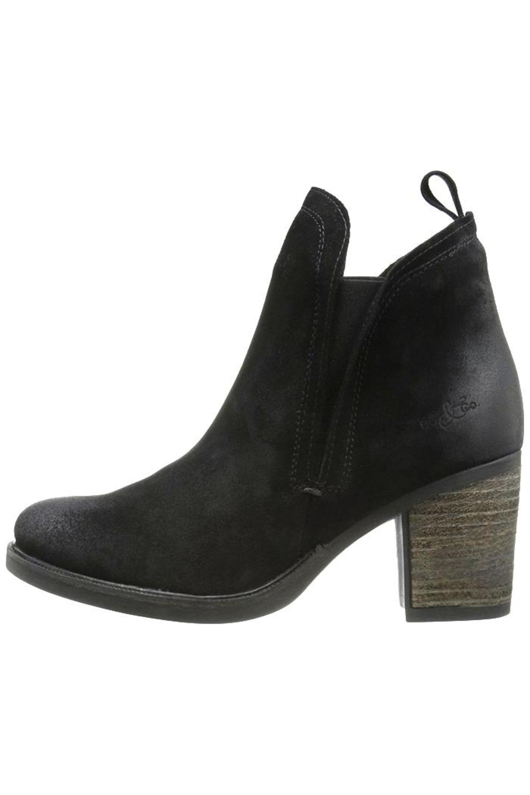 bos suede chelsea boot from toronto by mi giovi shoptiques