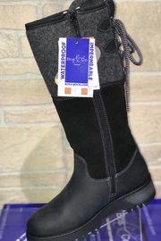 Bos & Co. Bos&Co Goose Waterproof Boiled Wool Mid Calf Boot - Front full body