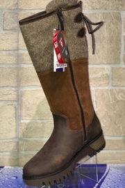 Bos & Co. Bos&Co Goose Waterproof Boiled Wool Mid Calf Boot - Front cropped