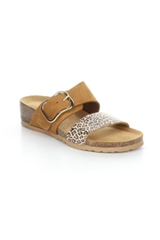 Bos & Co. Lapo Sandal In Brandy / Angelica - Front cropped