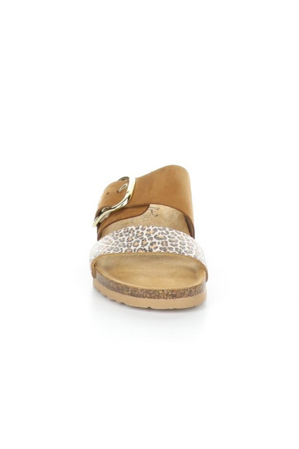 Bos & Co. Lapo Sandal In Brandy / Angelica - Front Full Image