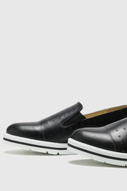 Bos & Co. Leigh Slip-On Sneaker - Front full body