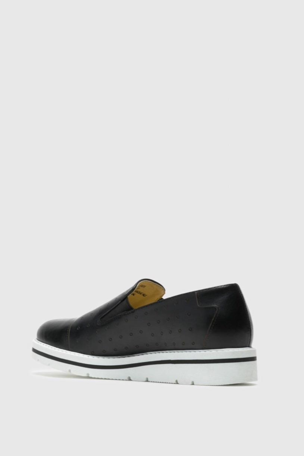 Bos & Co. Leigh Slip-On Sneaker - Back Cropped Image