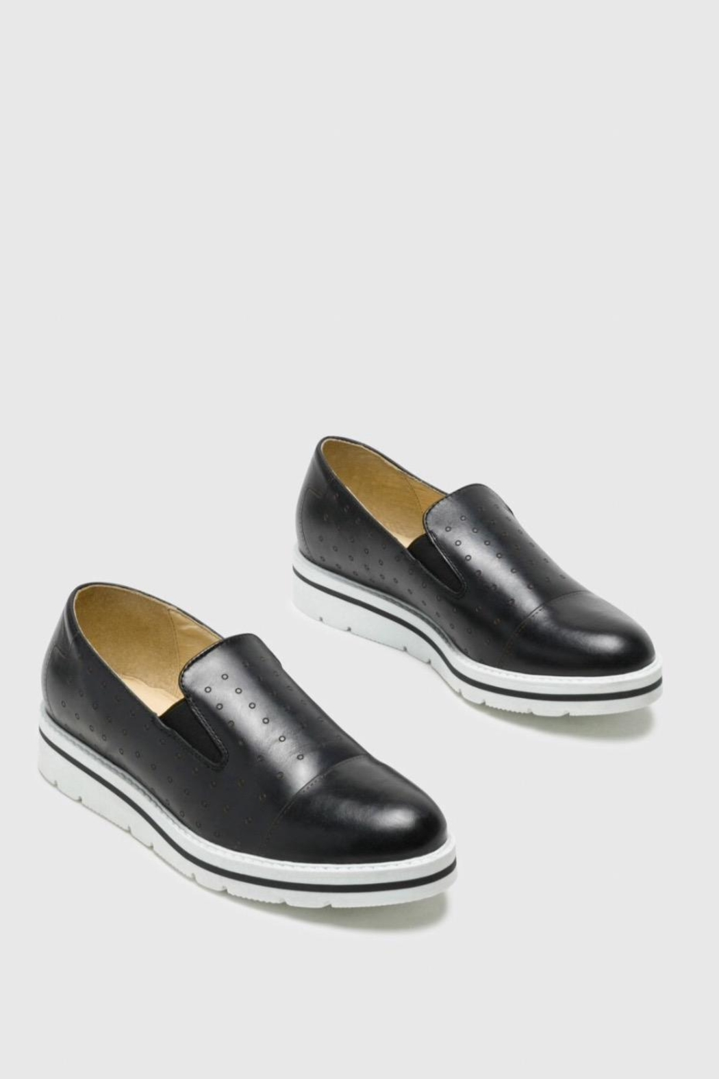 Bos & Co. Leigh Slip-On Sneaker - Front Cropped Image
