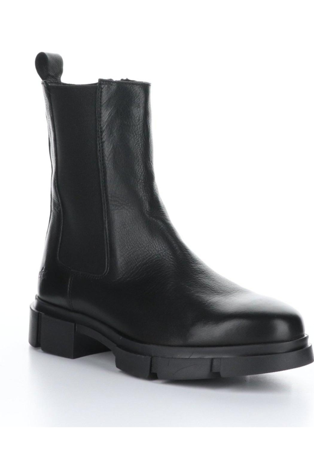 Bos & Co. Lock Boot - Black - Side Cropped Image