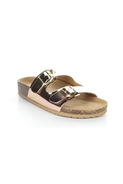 Bos & Co. Prim Rose Gold Mirror Sandal - Product Mini Image