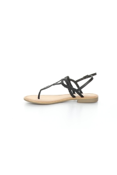 Bos and Co Gael Black Sandal - Product List Image