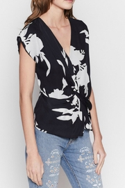 Joie Bosco Cap-Sleeve Blouse - Product Mini Image