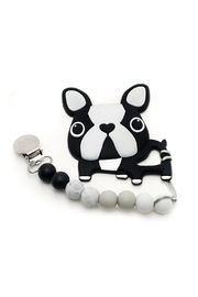 loulou Lollipop  Boston Terrier Teether Set - Front cropped