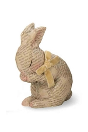 Boston International Decopage Bunny - Product Mini Image