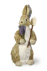 Boston International Lavender Easter Bunny - Product Mini Image