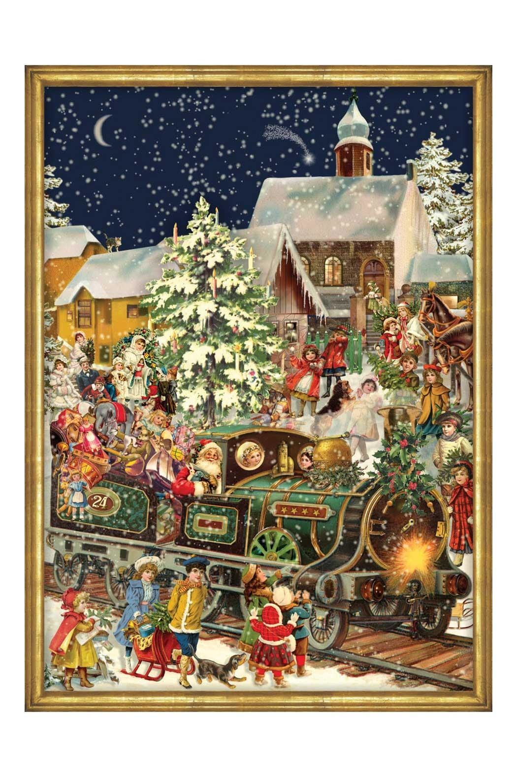 Boston International Train Advent Calendar - Main Image