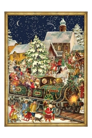 Boston International Train Advent Calendar - Front cropped