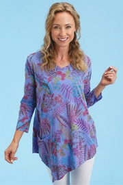 Fresh Produce Botanical Asymmetrical Tunic - Product Mini Image