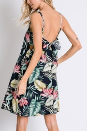 Lyn-Maree's  Botanical Back Detail Dress - Front cropped