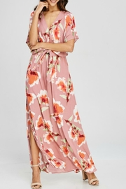 AAKAA Botanical Gardens Maxi - Back cropped