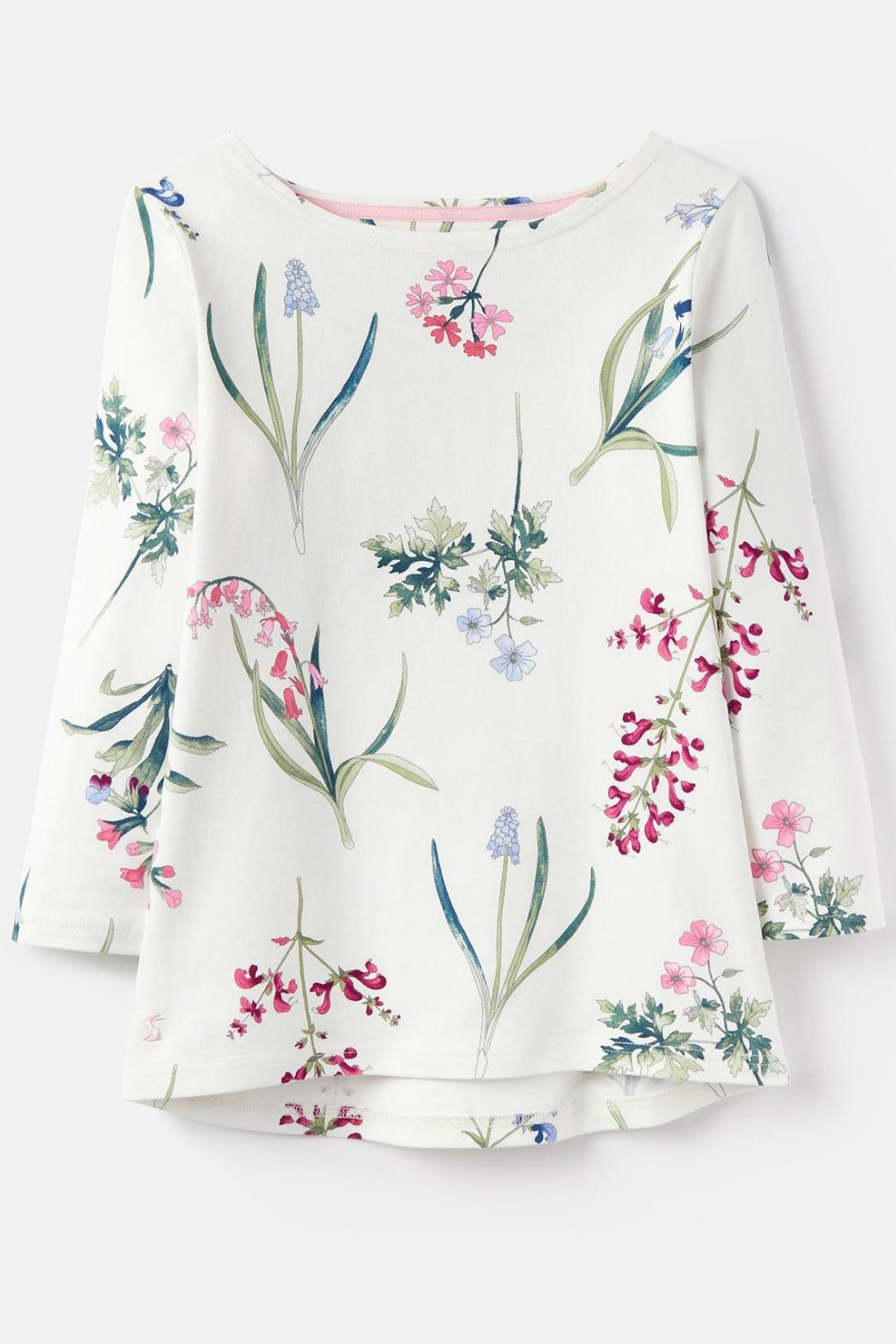 Joules Botanical Print Top - Side Cropped Image