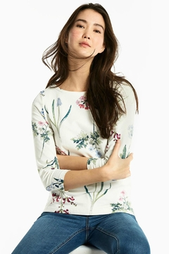 Joules Botanical Print Top - Product List Image
