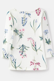 Joules Botanical Print Top - Back cropped