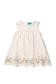Little Green Radicals Botanical Storytime Dress - Front cropped