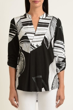 Shoptiques Product: Botanical Stripe Tunic