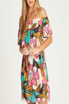 Billabong Both Ways Floral Dress - Alternate List Image