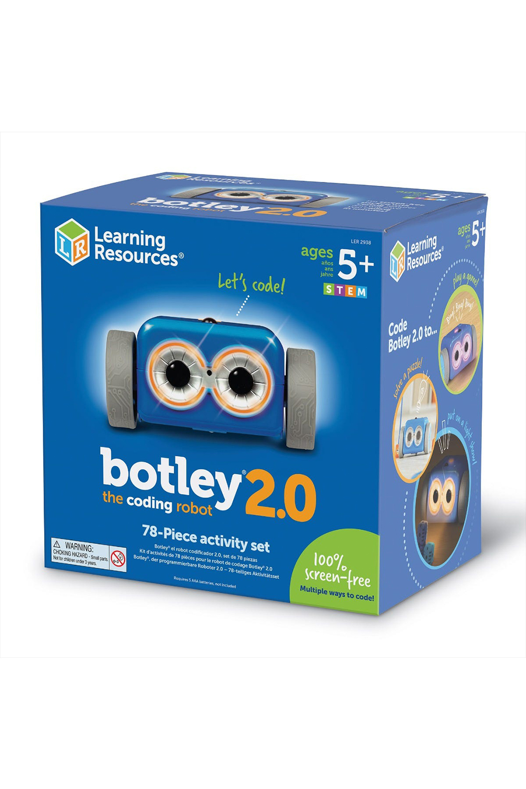 Learning Resources Botley 2.0: The Coding Robot Activity Set - Main Image