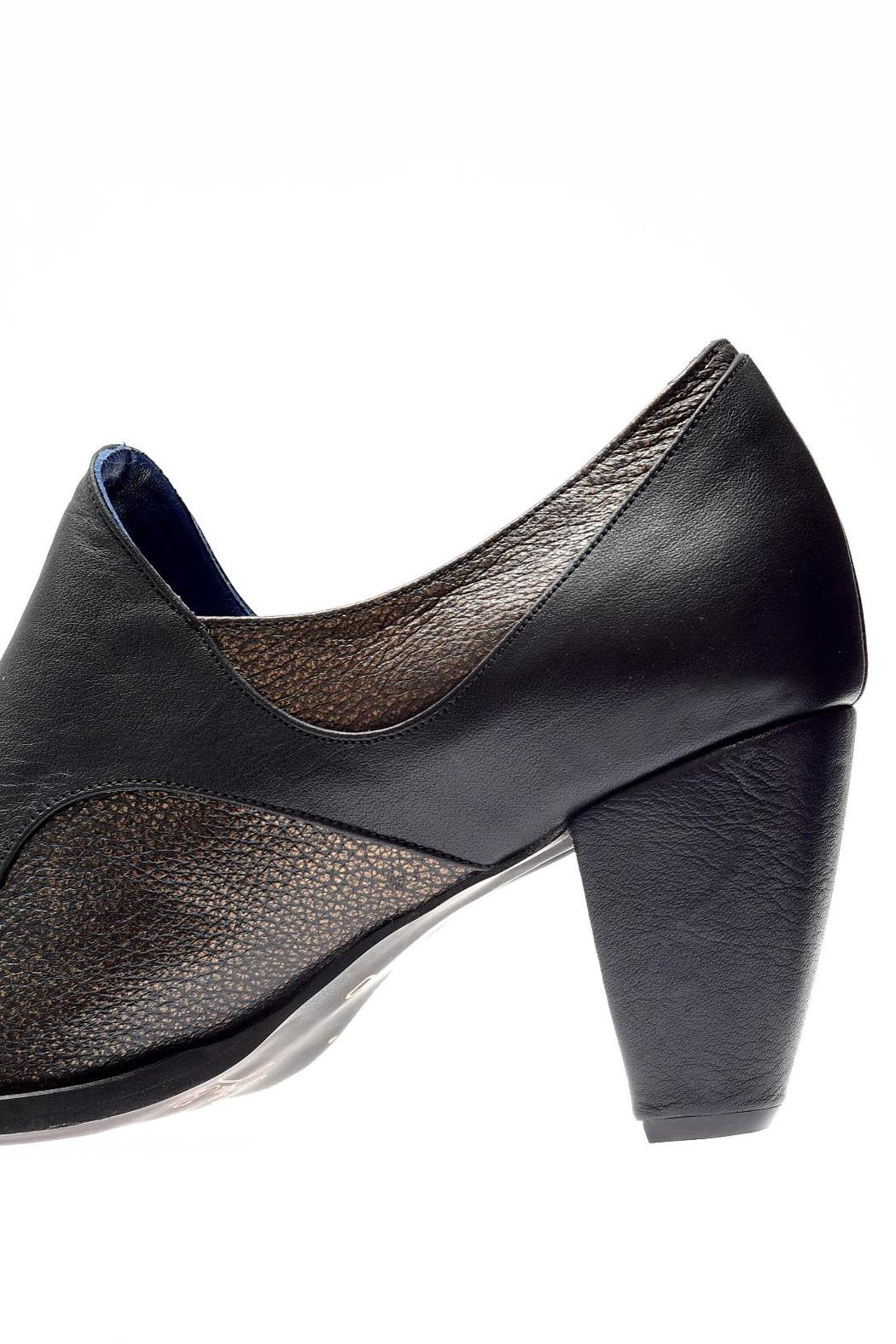 Bottega Bash Black Heels - Back Cropped Image