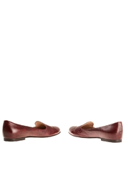 Bottega Bash Bourdeaux Leather Loafers - Side cropped