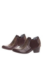 Bottega Bash Brown Leather Booties - Product Mini Image
