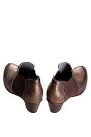 Bottega Bash Brown Leather Booties - Side cropped