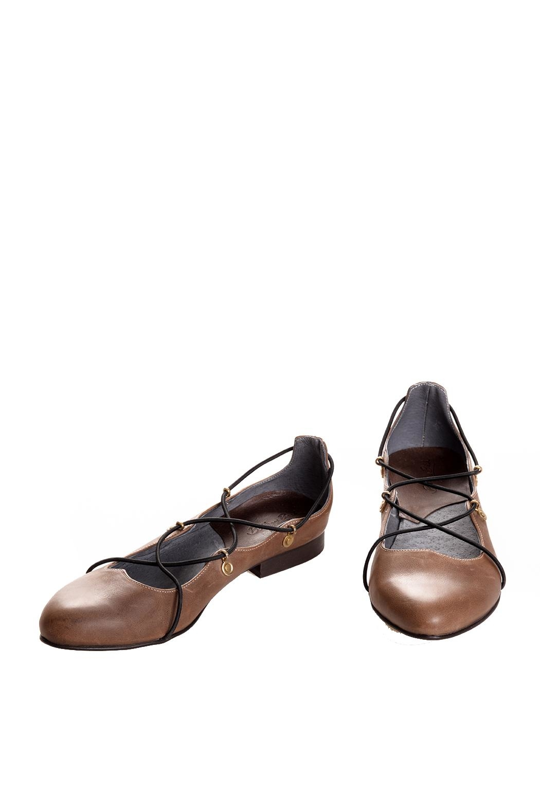 Bottega Bash Brown Leather Loafers - Main Image