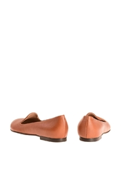 Bottega Bash Camel Leather Loafers - Side cropped