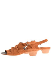 Bottega Bash Camel Suede Sandal - Product Mini Image