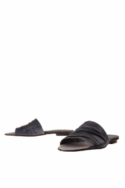 Bottega Bash Elephant Navy Mules - Product Mini Image