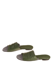 Bottega Bash Elephant Green Mules - Product Mini Image