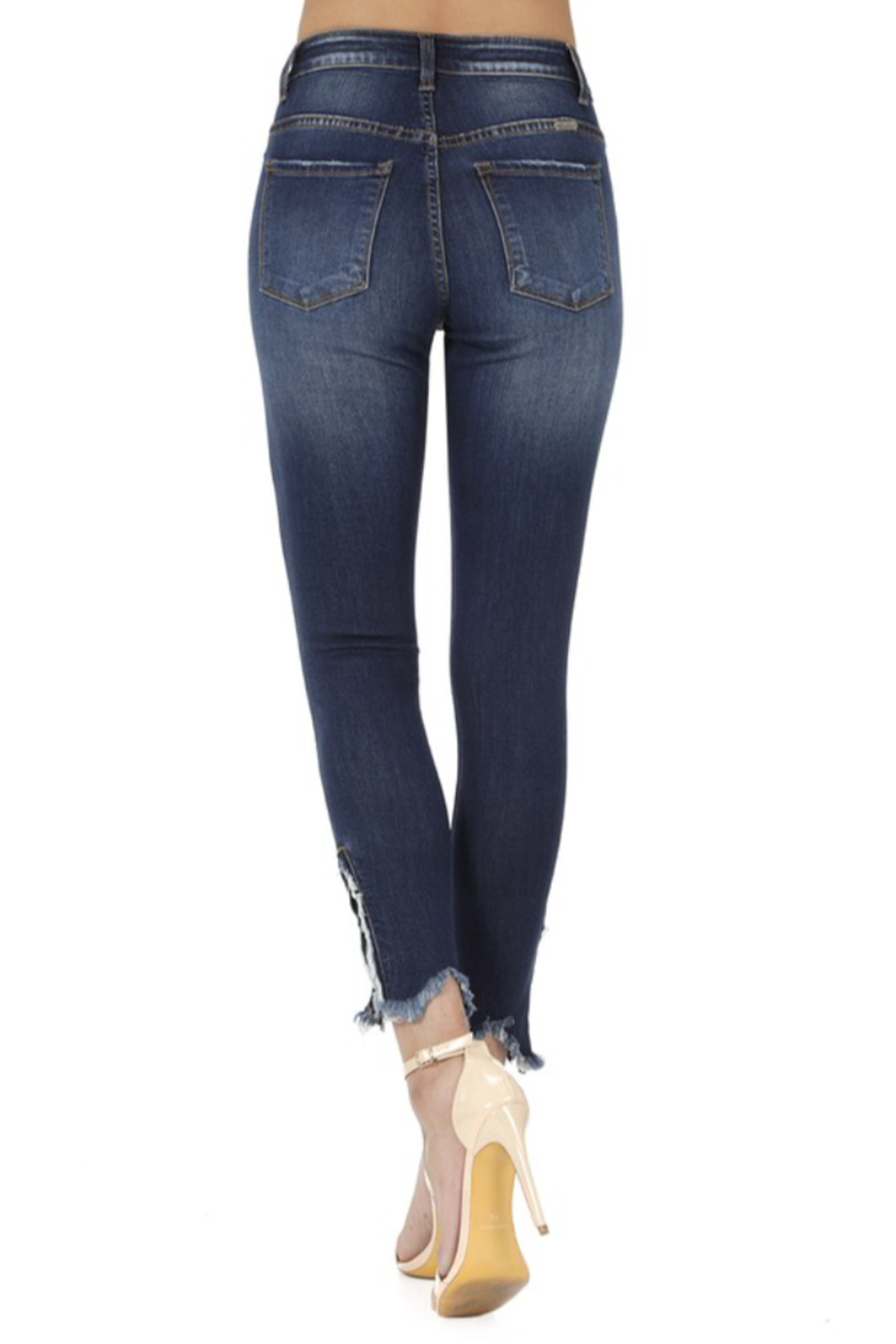 KanCan Bottom Zipper Jeans - Side Cropped Image