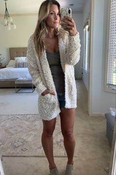 Bluivy Boucle cardigan - Product List Image