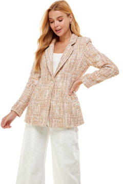 On Twelfth Boucle Fitted Blazer - Alternate List Image