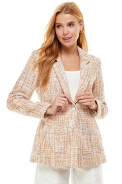 Shoptiques Product: Boucle Fitted Blazer