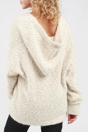 POL Boucle Hooded Cardigan - Side cropped