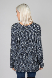 Simply Noelle Boucle Nub Sweater - Front full body