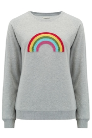 Sugarhill Boutique Boucle Rainbow Sweatshirt - Product Mini Image