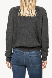 Lilla P Boucle V-Neck Sweater - Side cropped