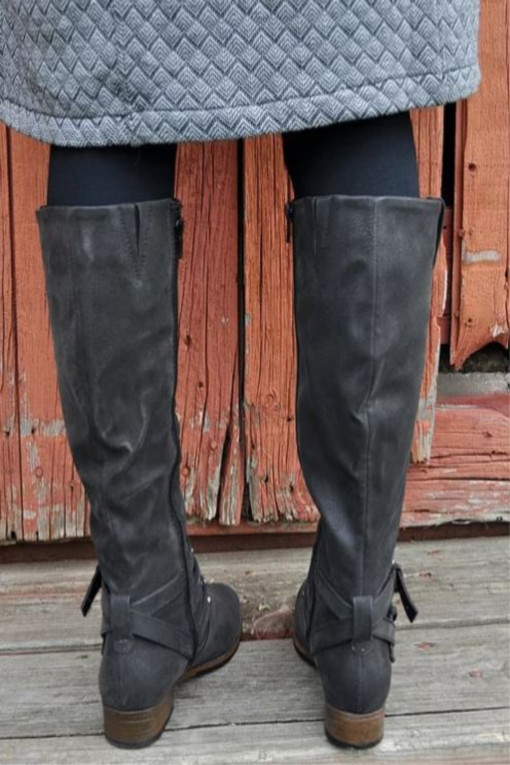 CONSOLIDATED SHOE CO Boundless Tall Boot - Front Full Image
