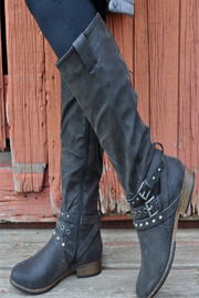 CONSOLIDATED SHOE CO Boundless Tall Boot - Back cropped