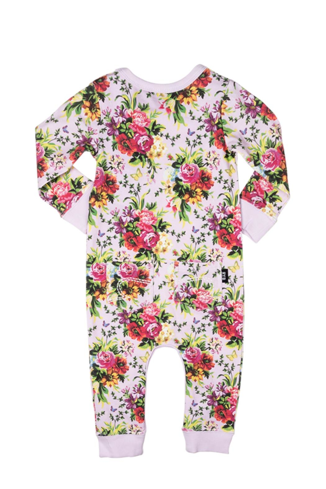 Rock Your Baby Bouquet Playsuit - Front Full Image