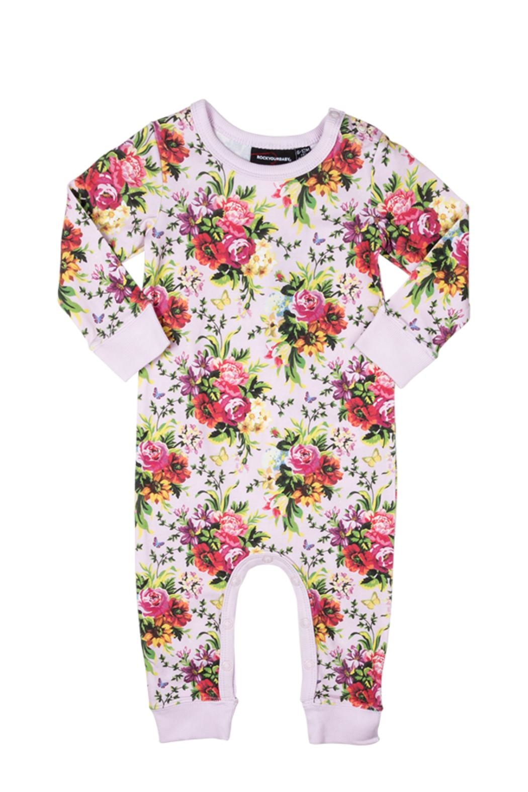 Rock Your Baby Bouquet Playsuit - Main Image