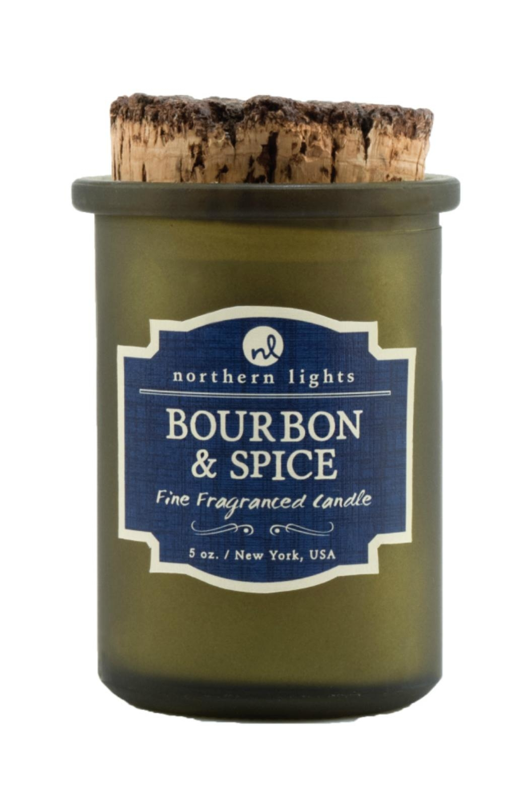 Northern Lights Bourbon & Spice Candle - Main Image