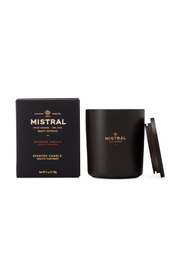 Mistral Soap BOURBON VANILLA MEN'S CANDLE-11 OZ - Product Mini Image